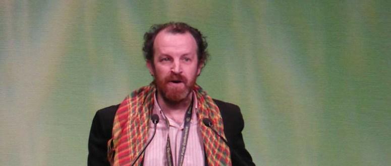 Derek Wall: internationalist ecosocialism of word and deed
