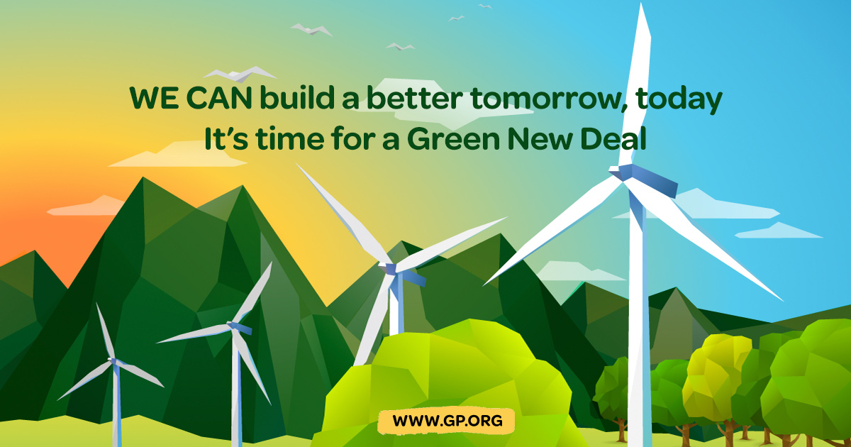 Making the Green New Deal Real
