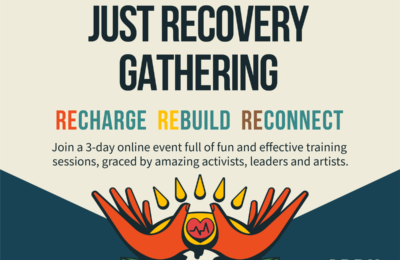 Global Just Recovery Gathering- April 9-11 2021