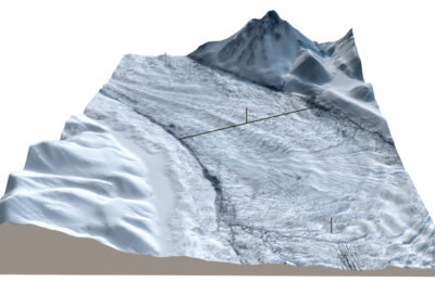 The Muldrew Glacier is Moving 100 Times Faster Than Normal