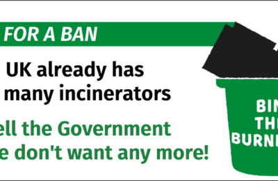 Time for a ban on waste incineration