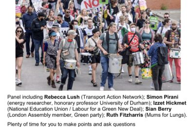 Seven Actions to Stop the Silvertown Tunnel