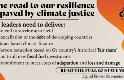 The road to our resilience is paved by climate justice