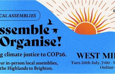 COP 26 Coalition West Midlands- launches 20th July