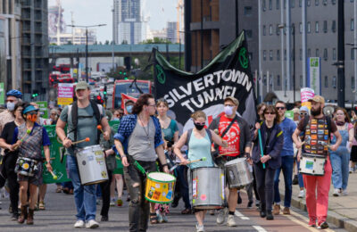 Is the Silvertown Tunnel, a four-lane road tunnel across the Thames, compatible with London's climate commitments?