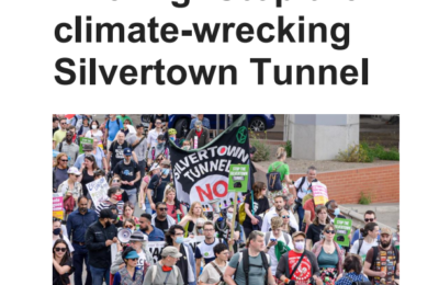 A new briefing on the Silvertown Tunnel